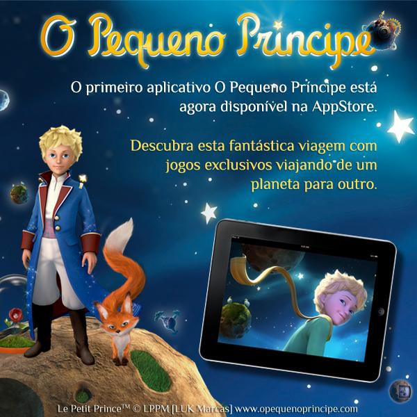 Aplicativo O Pequeno Príncipe